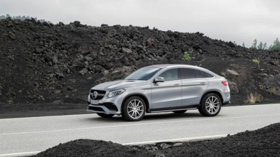 Nuevo Mercedes-Benz GLE Coupé: el suv más dinámico de la estrella