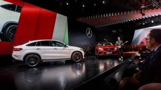 Mercedes-Benz en el Salón del Automóvil de Detroit 2015