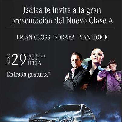 14.09.2012. PRESENTACIÓN DEL NUEVO CLASE A EN JADISA