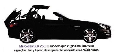 EL SLK DE SHAKIRA