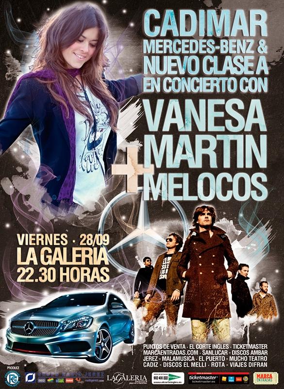 11.09.2012. CADIMAR PRESENTA EL NUEVO CLASE A CON VANESA MARTÍN Y MELOCOS