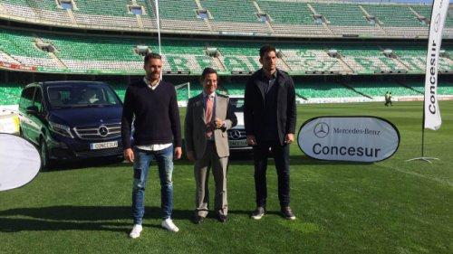 Mercedes-Benz, vehículos oficiales del Real Betis Balompié