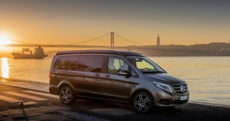 Mercedes-Benz Clase V Marco Polo: donde empiezan tus aventuras