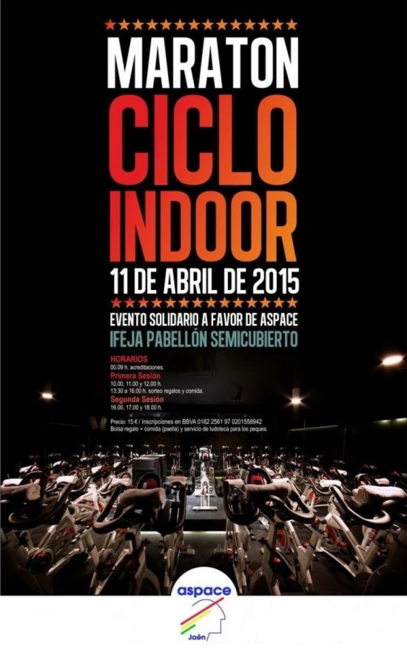Maratón Ciclo Indoor a favor de Aspace