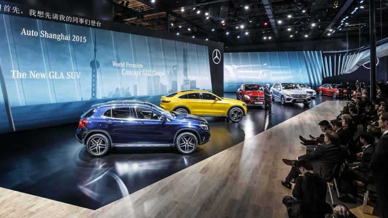 Mercedes-Benz afianza su apuesta por los suv en el Salón de Shanghai