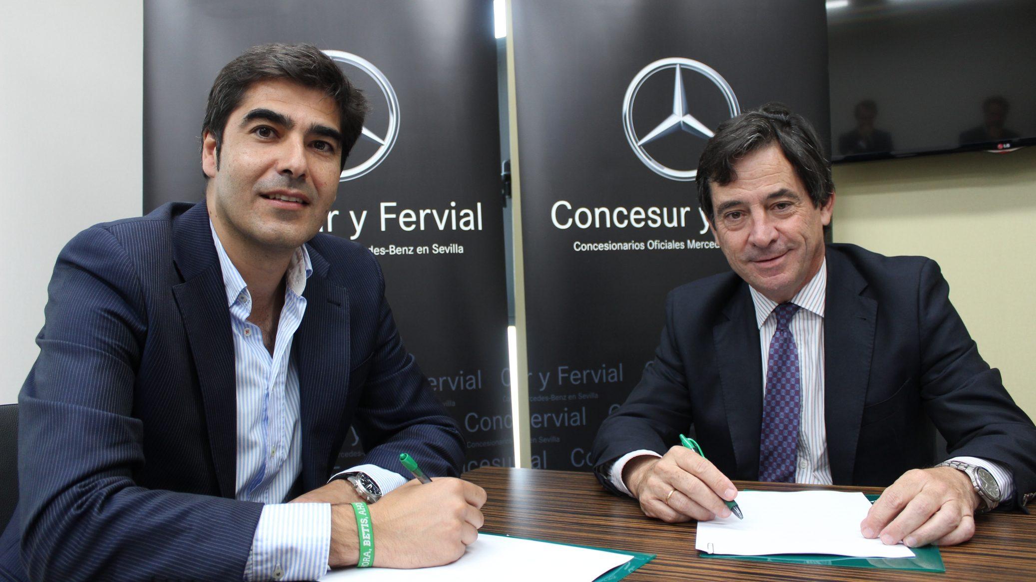 Grupo Concesur patrocinador oficial del Betis