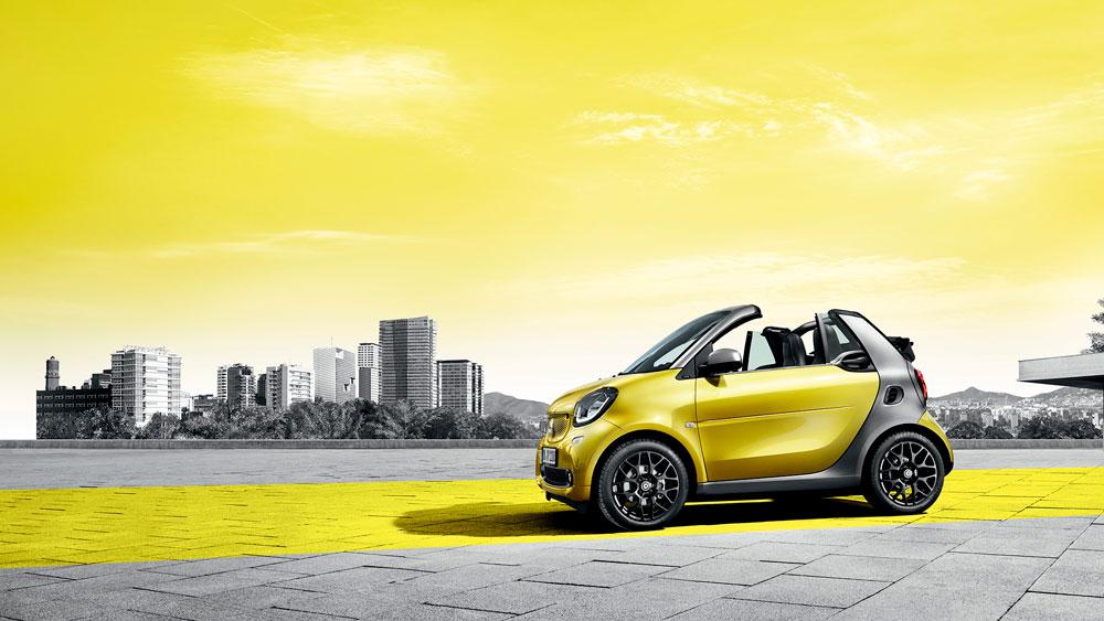 smart fortwo cabrio Concesur Mercedes-Benz Sevilla