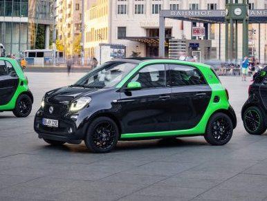Todos los modelos smart serán eléctricos