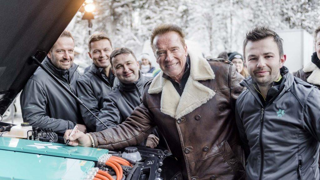 Clase G electrico Schwarzenegger Concesur