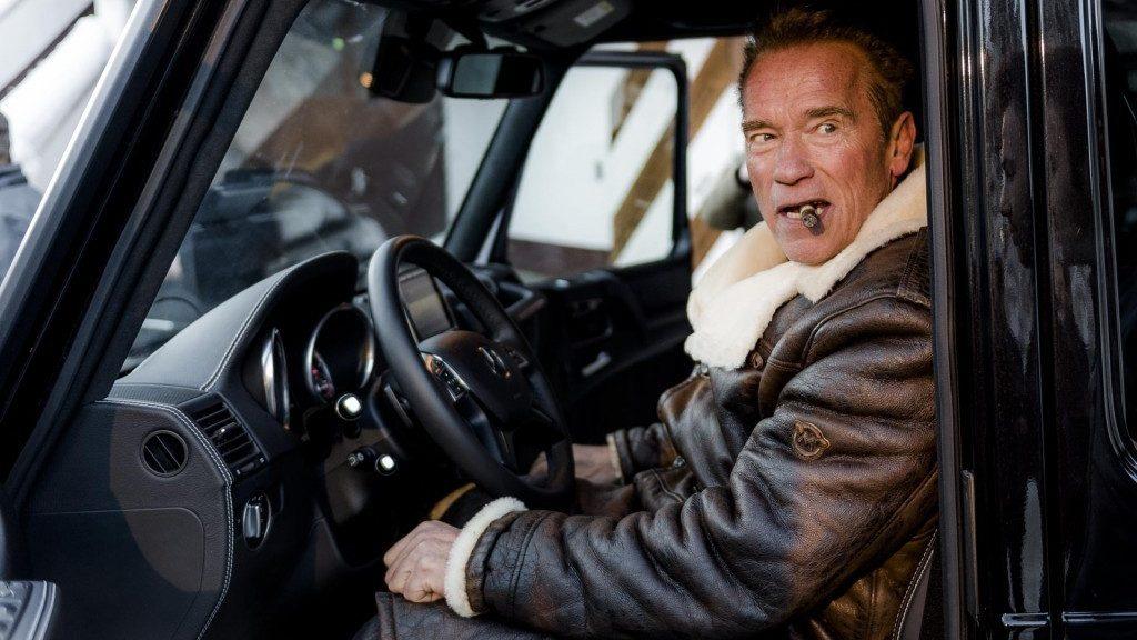 Mercedes Clase G electrico Schwarzenegger Concesur