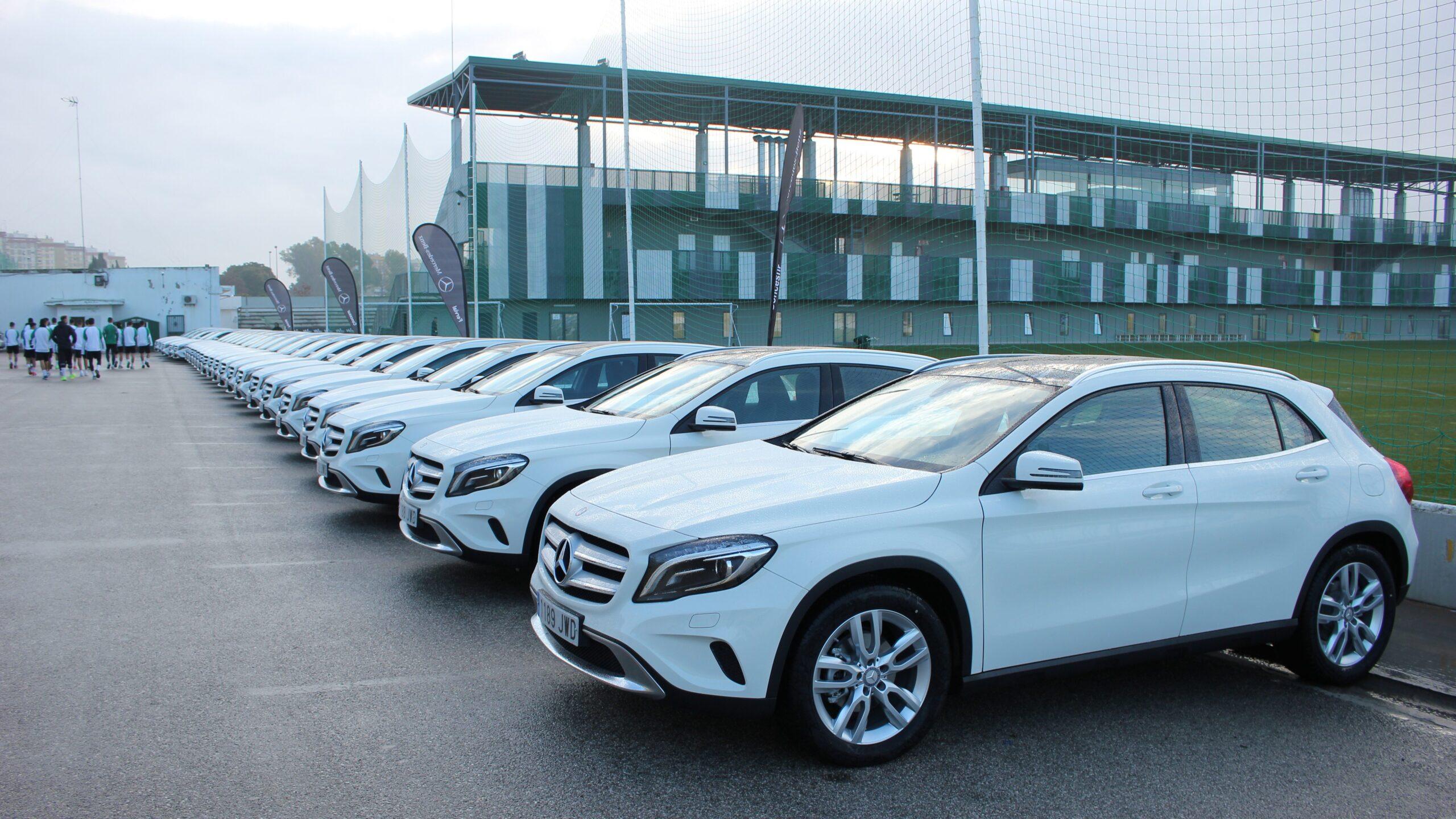 Concesur renueva los Mercedes-Benz GLA a la plantilla del Betis
