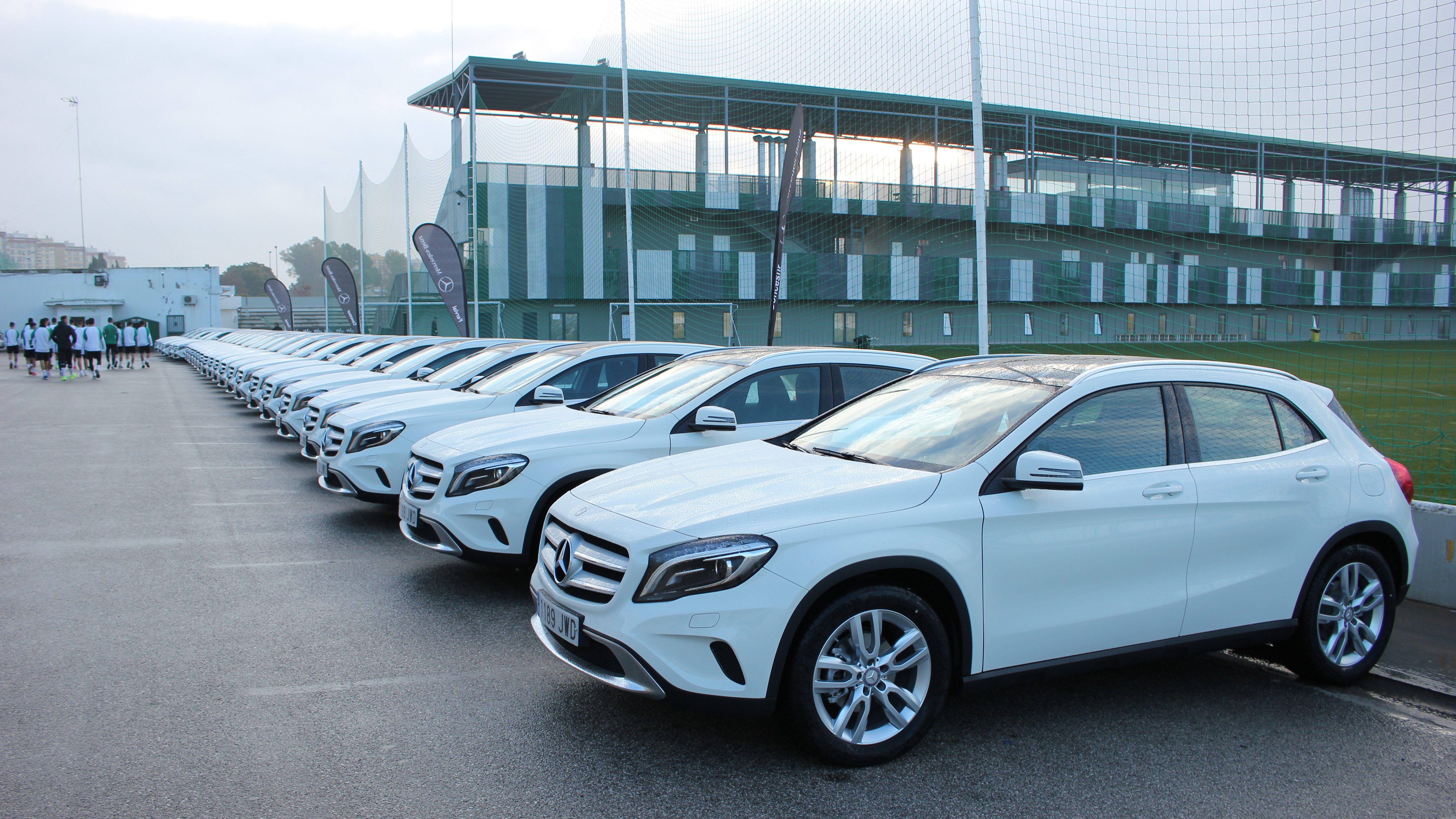 Concesur renueva los 25 Mercedes-Benz GLA a la plantilla del Betis