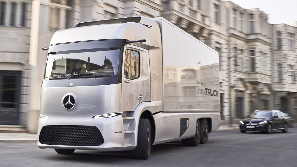 Mercedes-Benz urban eTruck Concesur