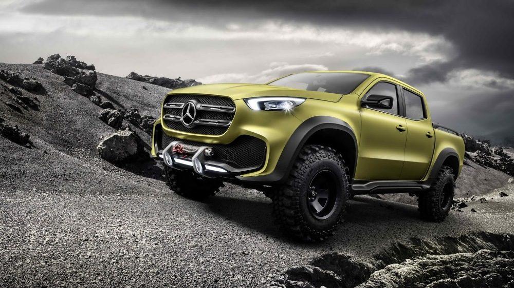 Mercedes Clase X Concept Concesur