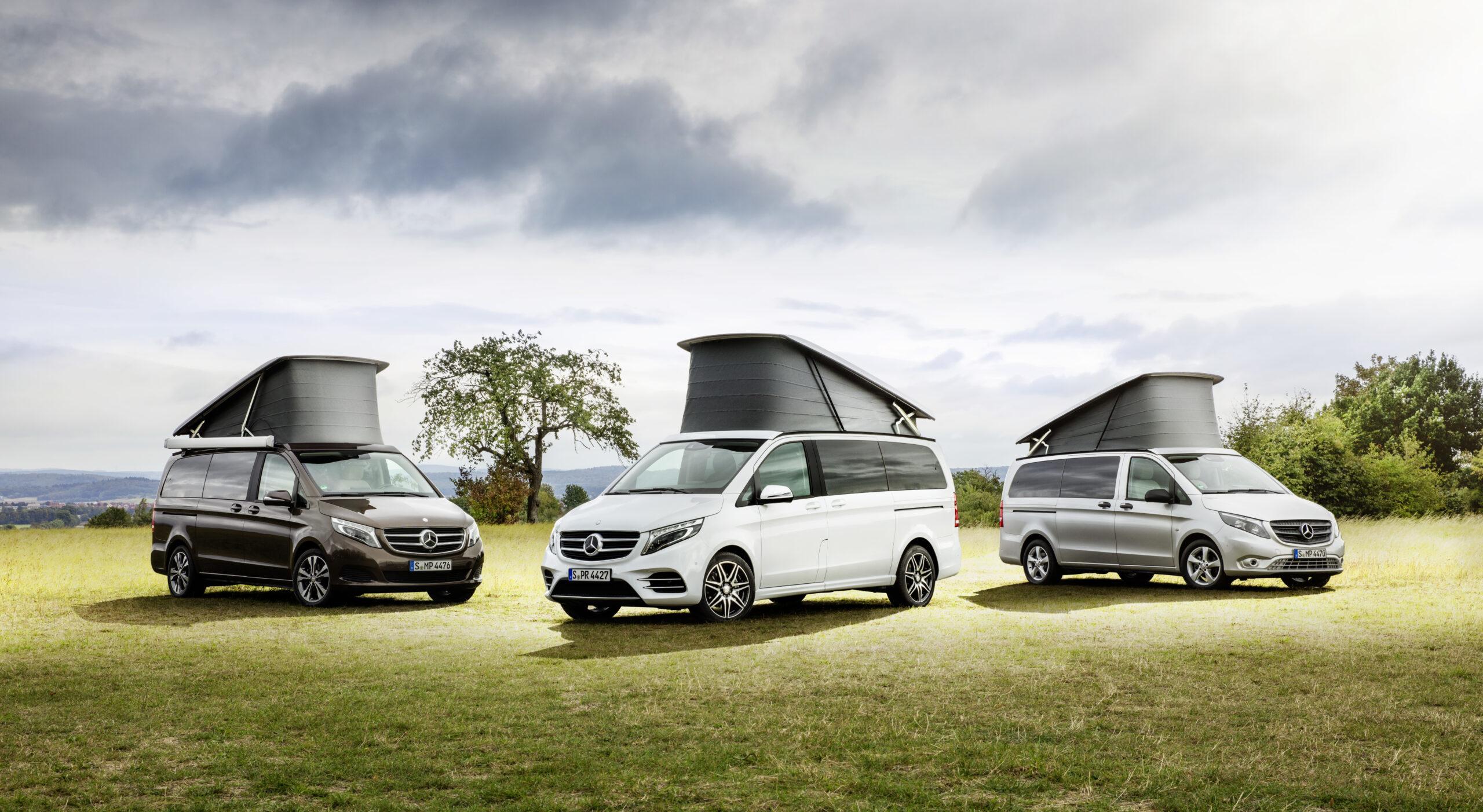 Mercedes Marco Polo Horizon: para las familias aventureras