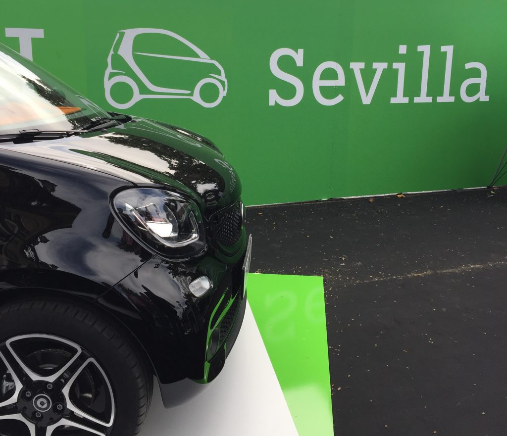 smart electric drive sevilla Concesur y Fervial