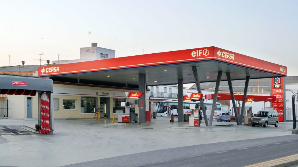 gasolinera cecalma sevilla
