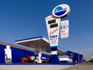 Gasolinera Ballenoil en Barcelona