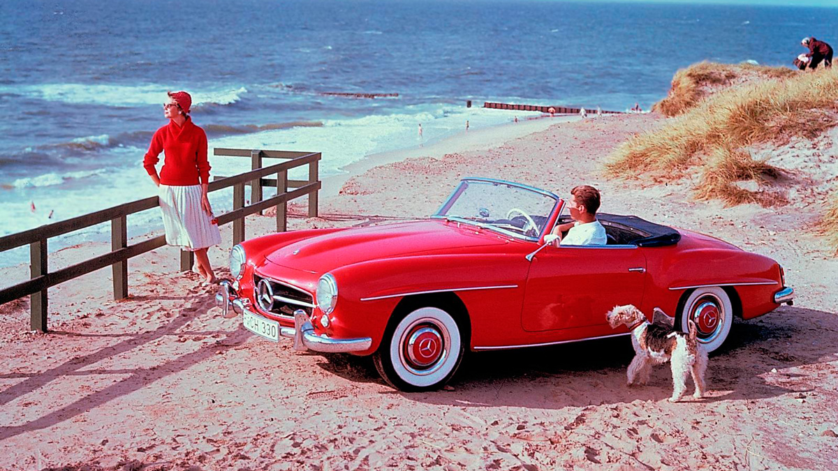 Mercedes ocasion rutas verano