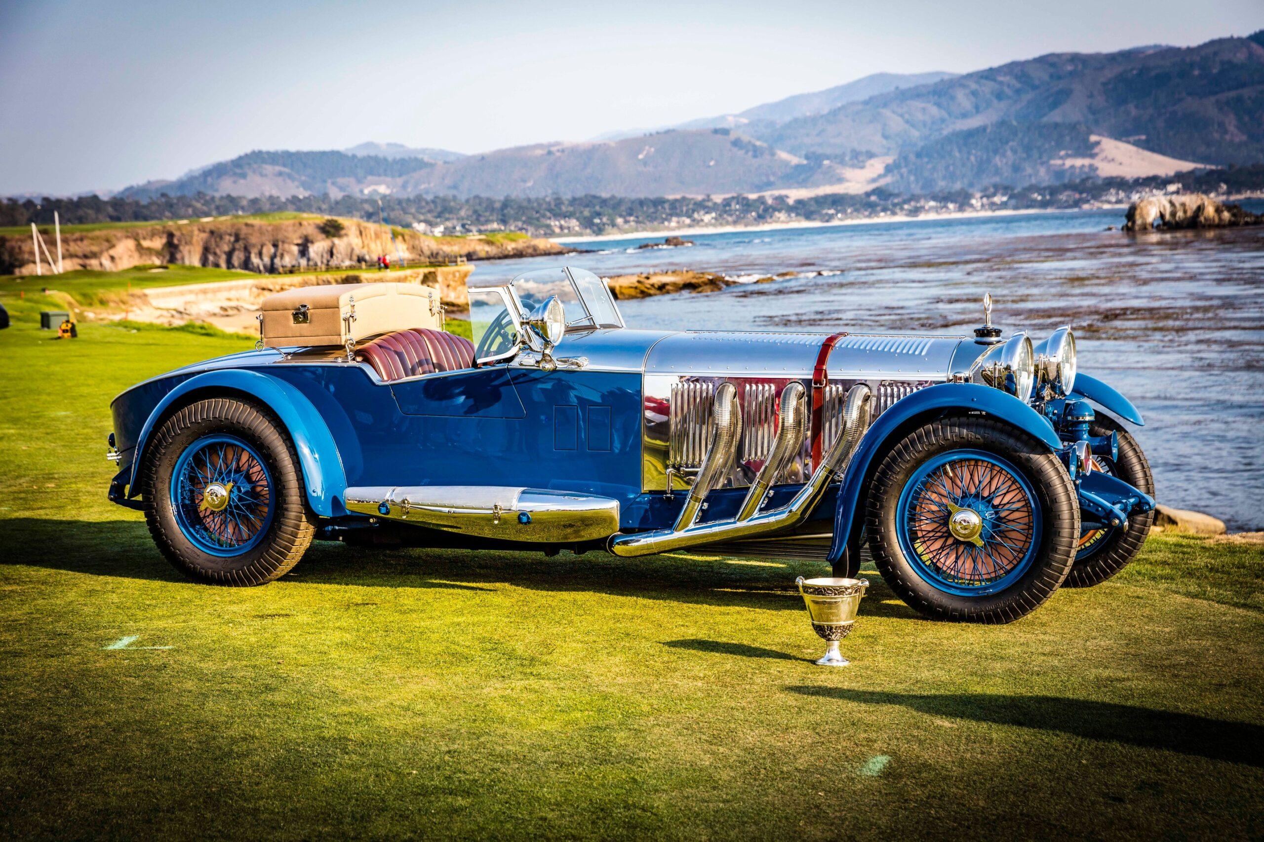 El ganador del Concurso de Elegancia de Pebble Beach 2017 es un Mercedes-Benz de 1929
