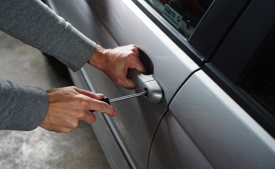 robo de coches en garajes