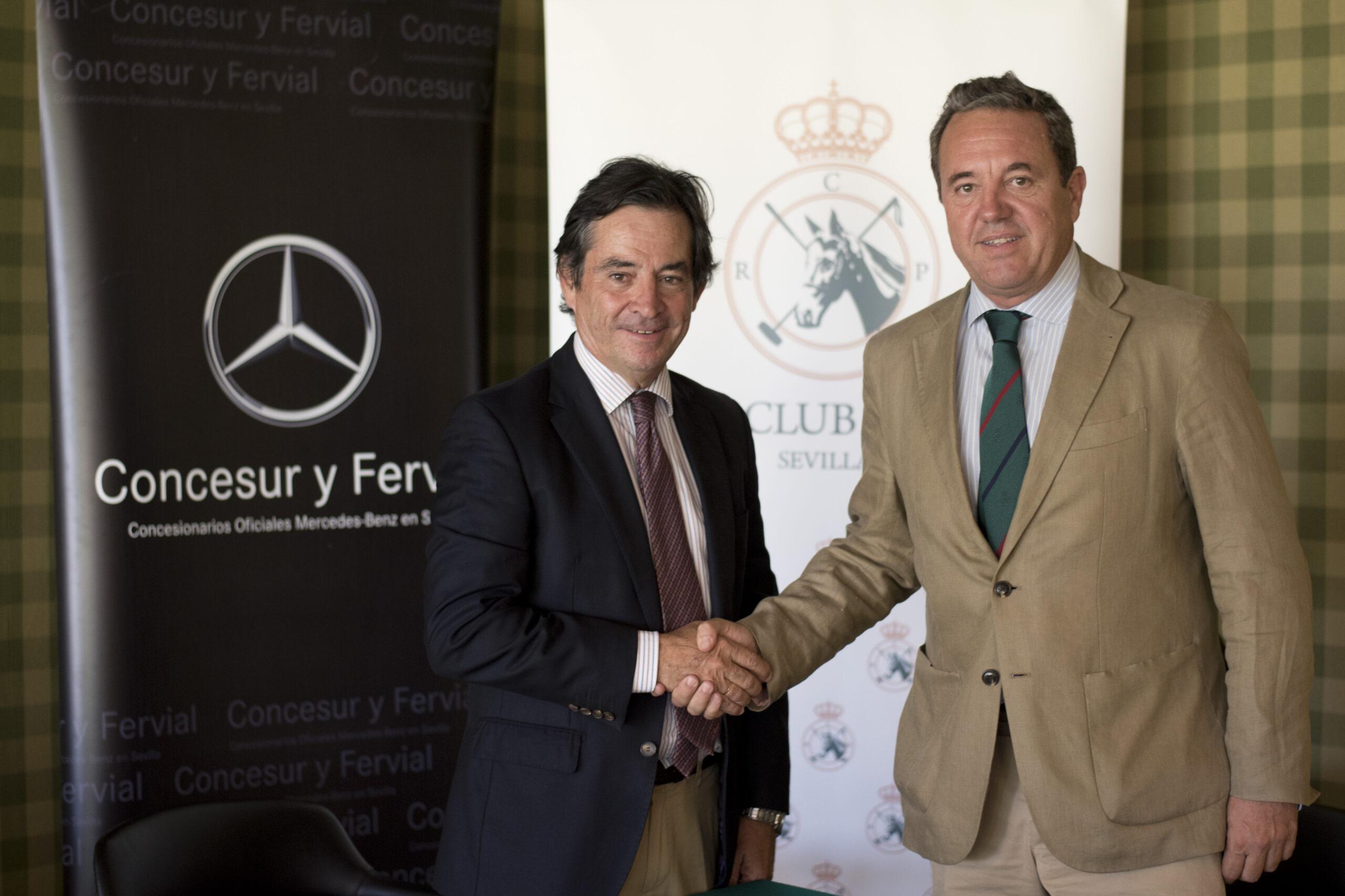 Concesur Mercedes-Benz firma con el Real Club Pineda