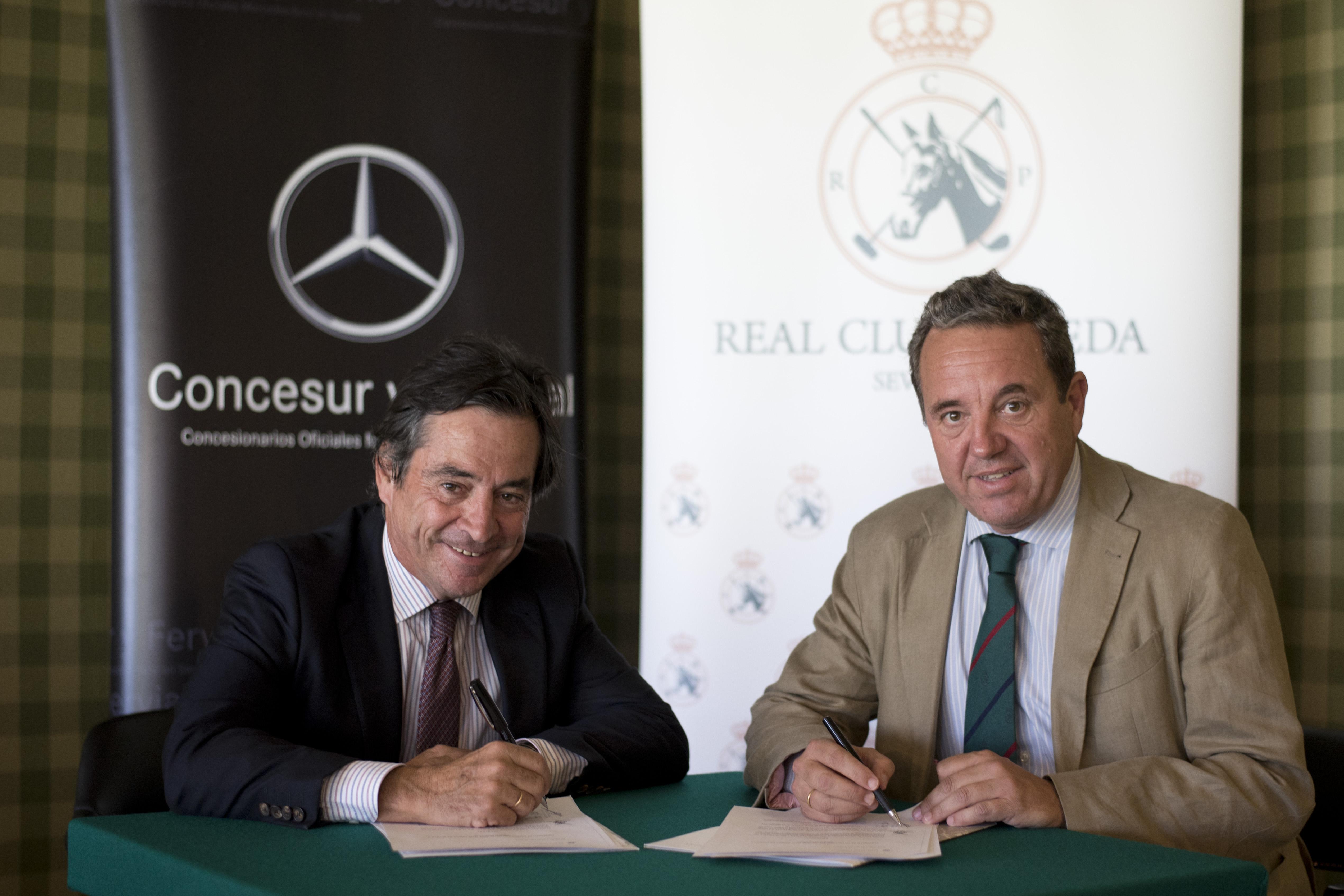 Firma Concesur Mercedes y Pineda