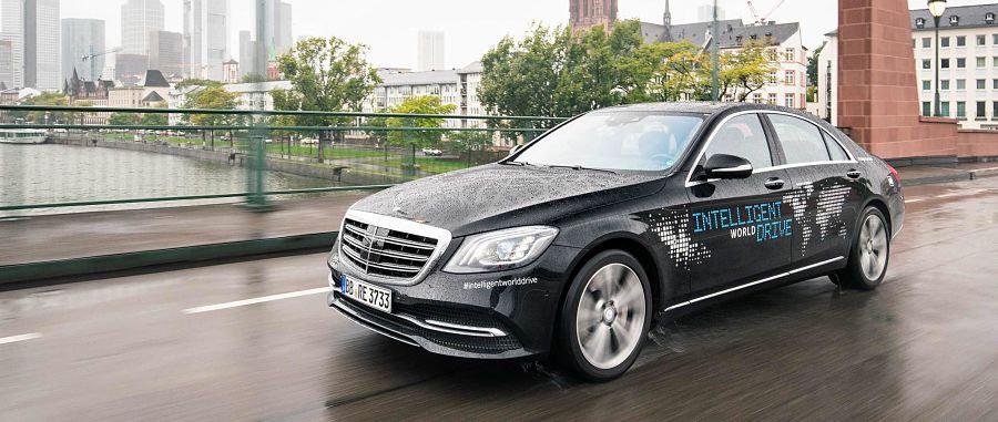 Mercedes Intelligent World Drive: la conducción autónoma que recorrerá el mundo