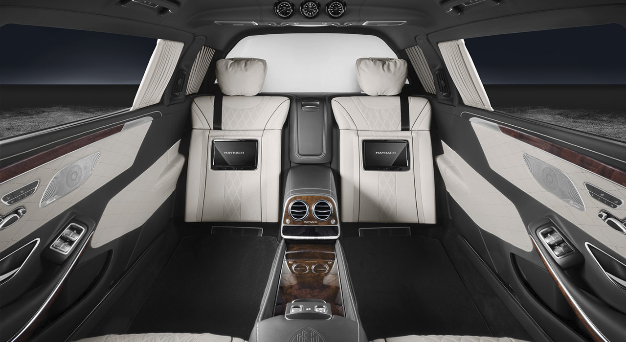 Mercedes-Maybach S600 Pullman Concesur Mercedes-Benz