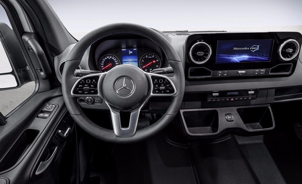 Interior Mercedes Sprinter 2018 Concesur