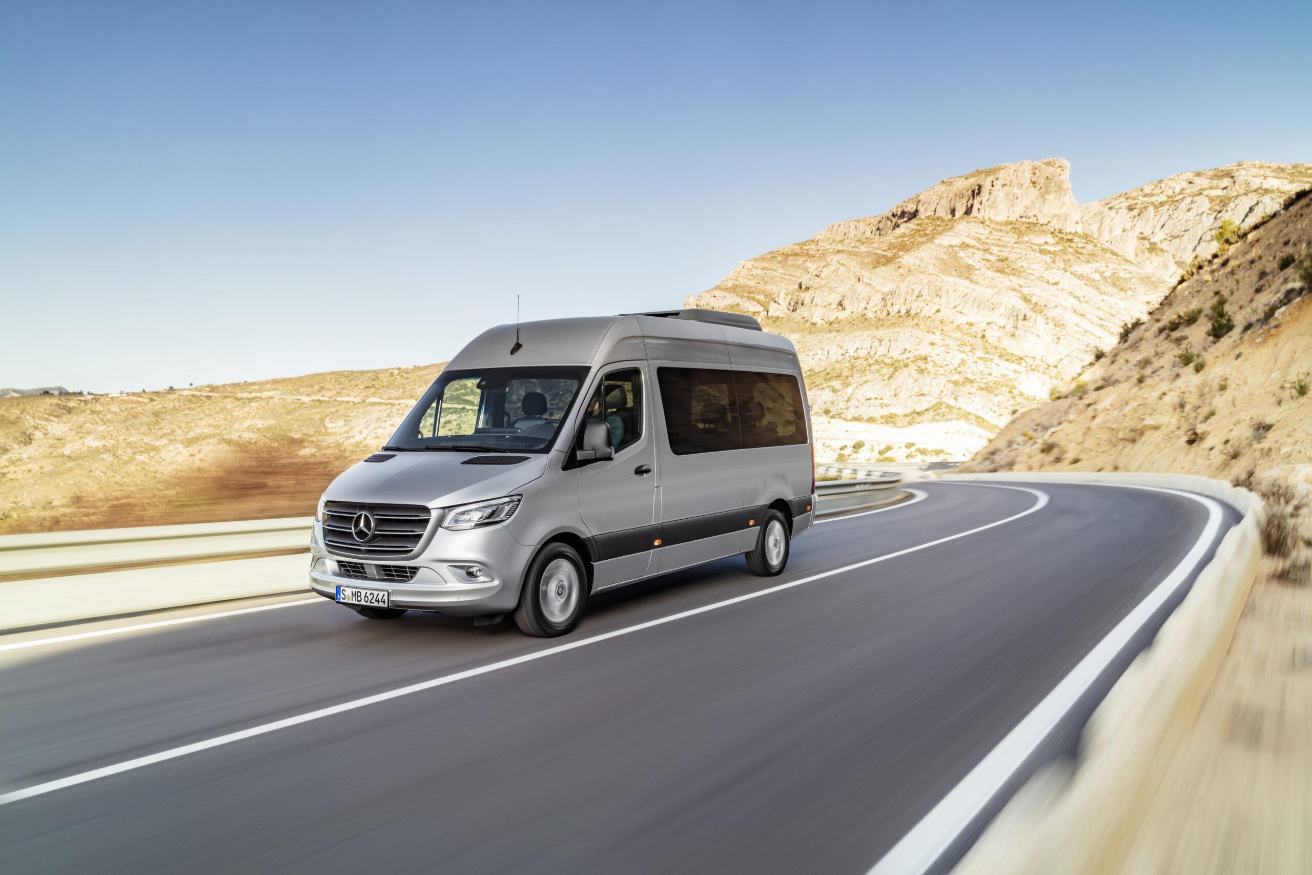 Nuevo Mercedes Sprinter: más moderno y eficiente