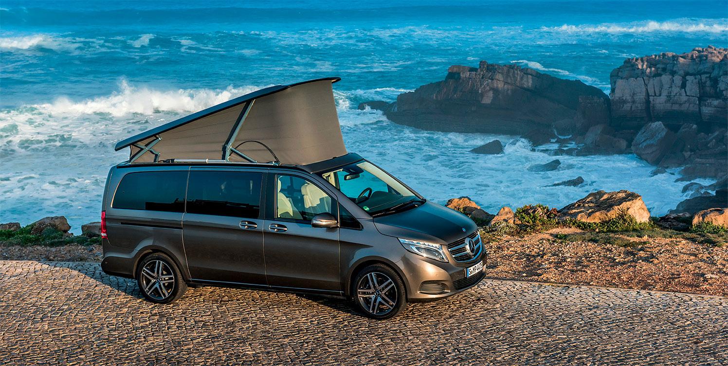 Mercedes-Benz Marco Polo autocaravana Concesur Sevilla