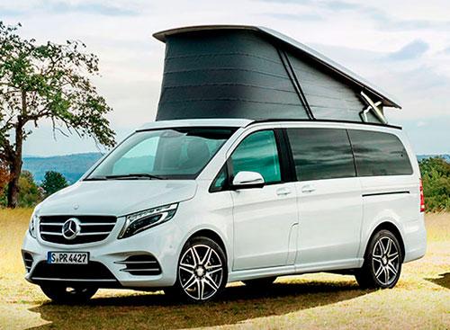 Perfil Mercedes-Benz Marco Polo autocaravana Concesur Sevilla