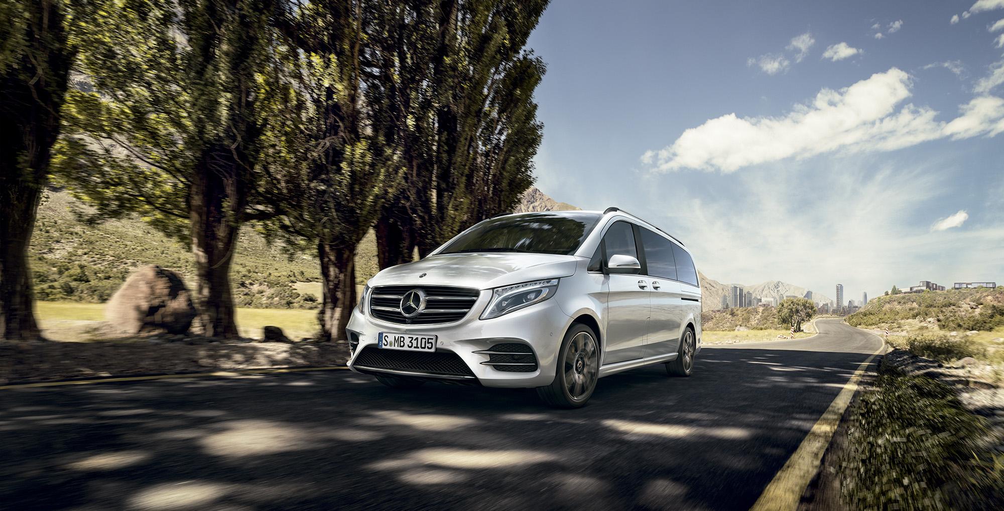 Furgoneta Mercedes-Benz Clase V Concesur Sevilla