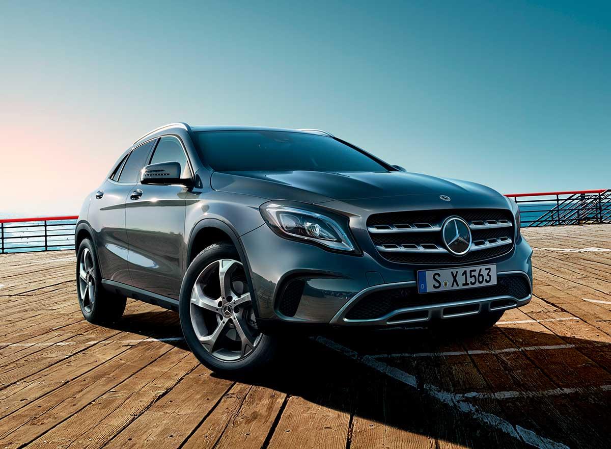 Mercedes-Benz GLA perfil