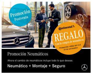 Campaña neumáticos Mercedes-Benz Concesur y Fervial Sevilla