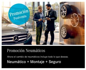 Promoción neumáticos turismos Concesur y Fervial Mercedes-Benz Sevilla