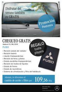 Revisión verano FUSO Concesur Mercedes-Benz Sevilla