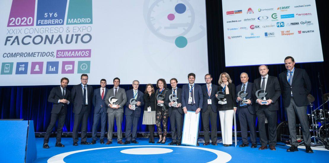 Grupo Concesur premiados por Faconauto 2020