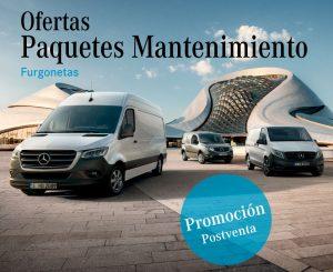 Precios cerrados mantenimiento furgonetas Concesur y Fervial Mercedes-Benz Sevilla