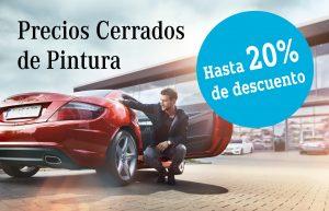 Precios cerrados pintura Concesur y Fervial Mercedes-Benz