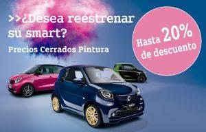 Precios cerrados pintura smart Concesur y Fervial Mercedes-Benz