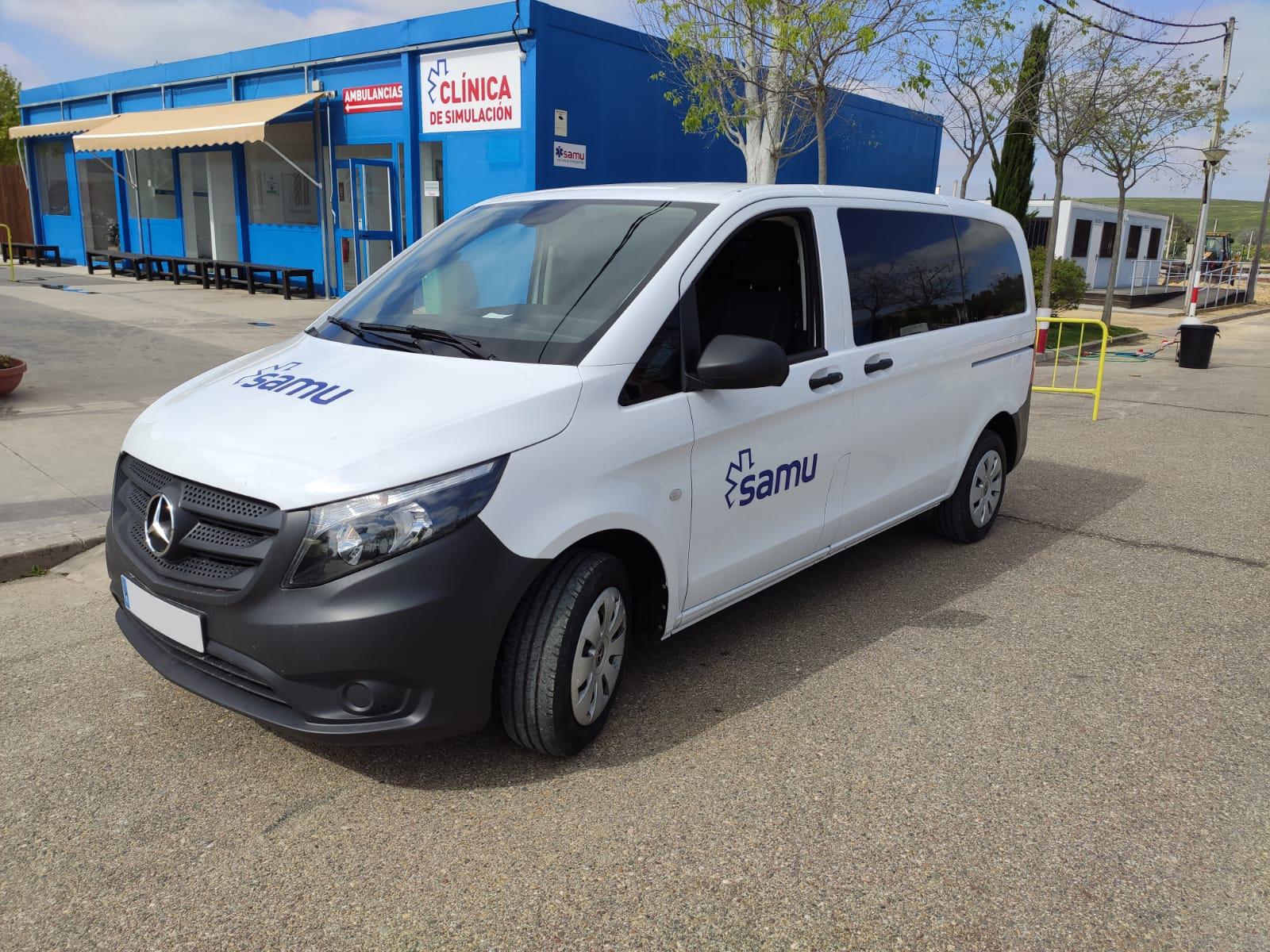 Grupo Concesur ha realizado una cesión de dos vehículos a los dispositivos de SAMU para hacer frente al coronavirus