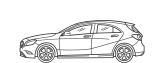 vehiculo mercedes Compacto