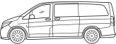 vehiculo mercedes Furgonetas