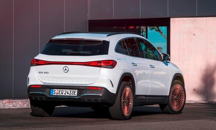 Mercedes-EQA exterior