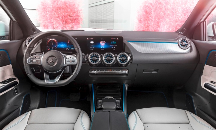 Mercedes-EQA interior
