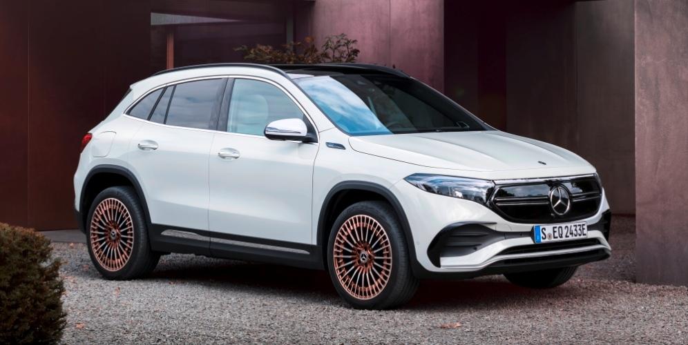 Mercedes EQA 100% eléctrico: presentación del nuevo SUV compacto