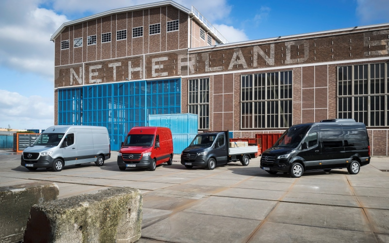 Furgonetas Mercedes Benz, líderes en seguridad por Euro NCAP