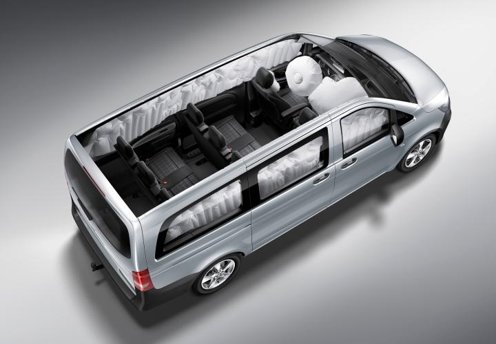 Furgonetas Mercedes Benz airbags